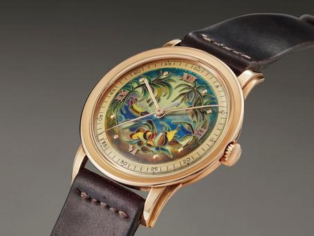 當古董錶遇上「景泰藍」 Patek Philippe的琺瑯工藝錶盤