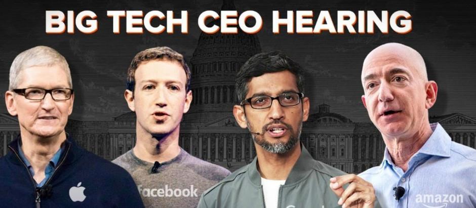 四大科技巨頭CEO怎麼在「眾議院反壟斷聽證會」上裝無辜?(臉書 亞馬遜 Google Apple)