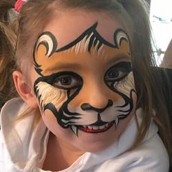 Lion Face Painting