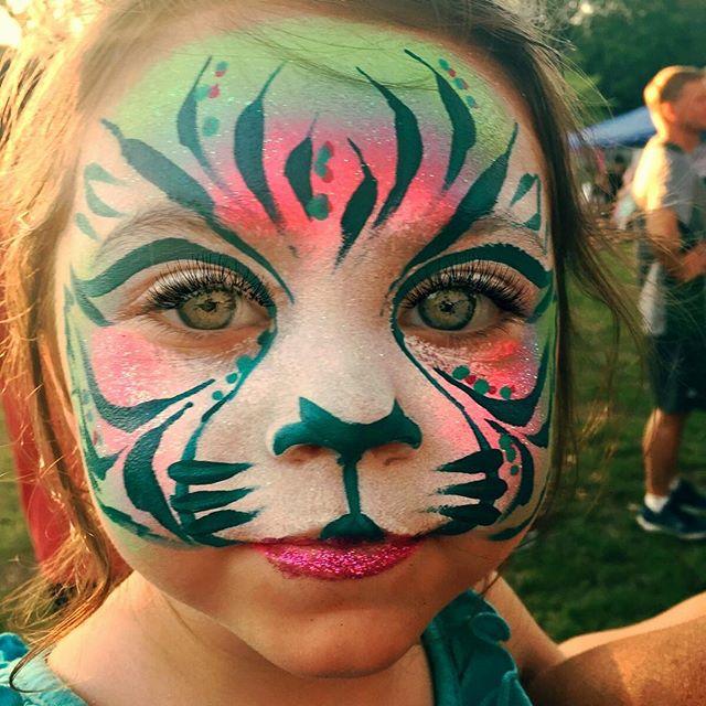 Fantasy Tiger Face Paint