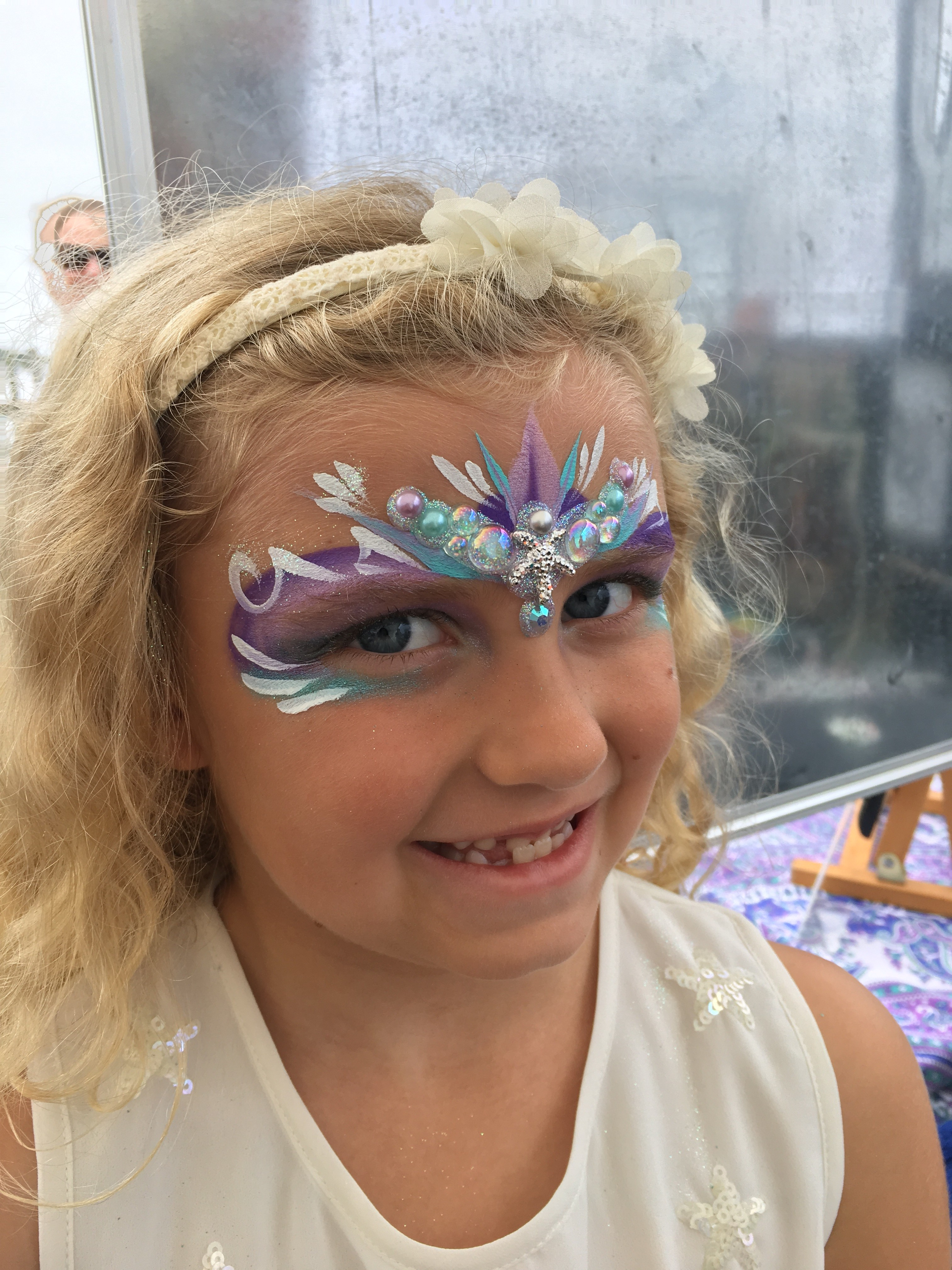 Bling Crown Face Paint