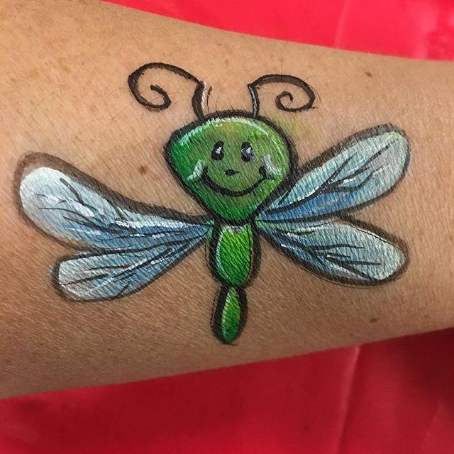 Bug Face Art