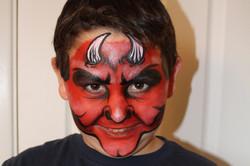 Devil Face Paint