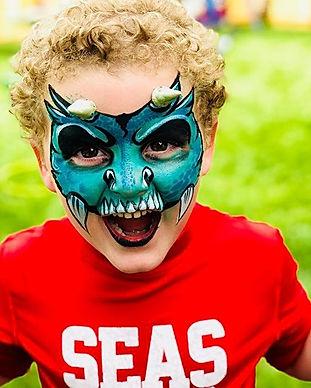 Monster Face Paint