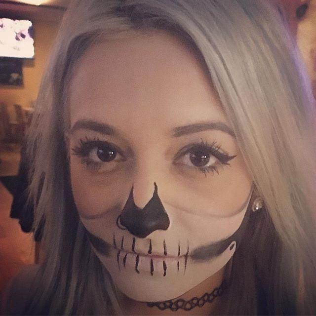 Glamourween Face Art