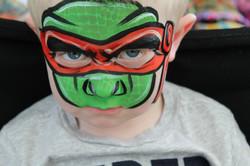 Ninja Turtle Face Art