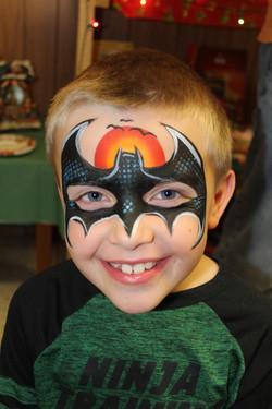 Batman Face Art