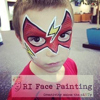 The Flash Face Paint