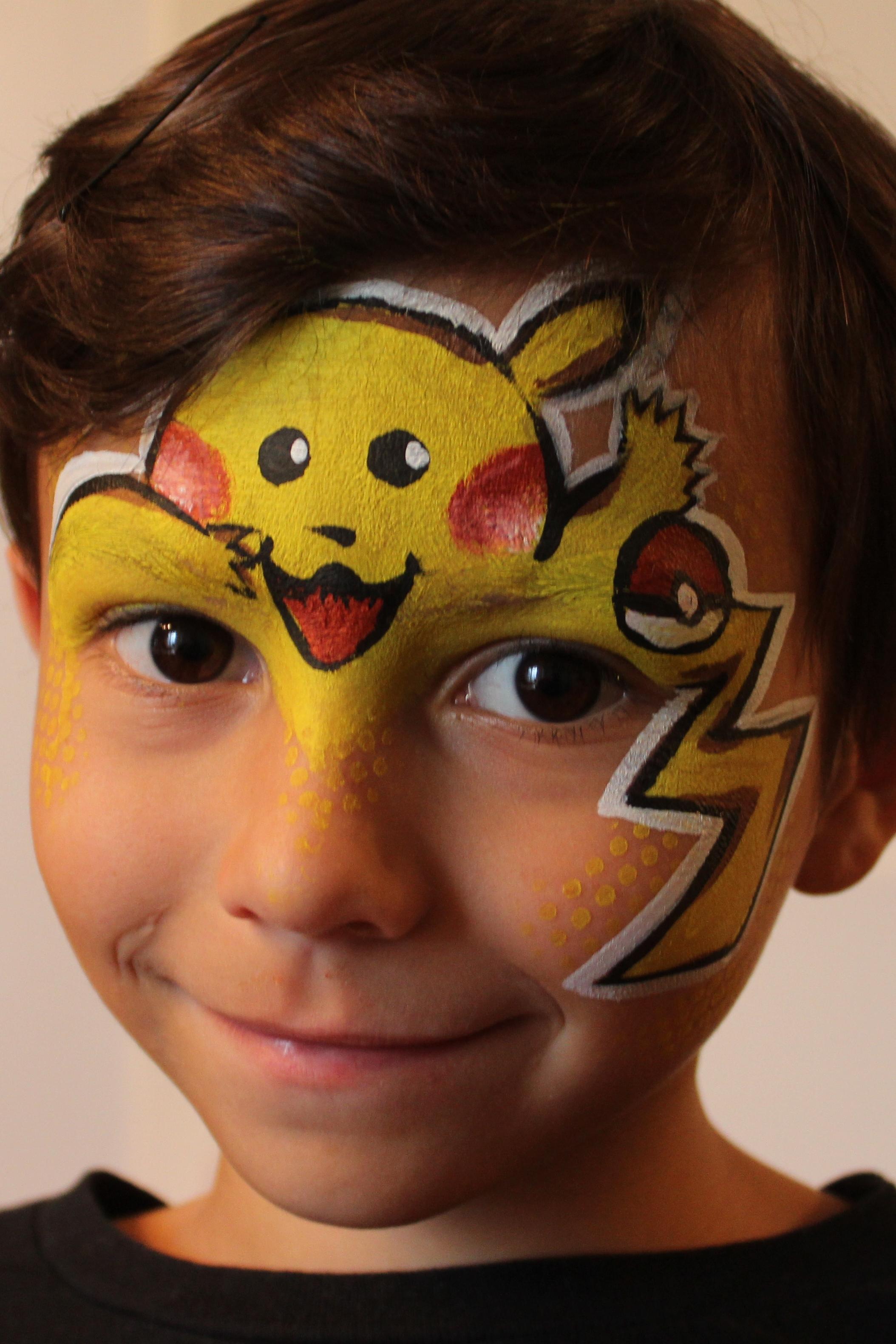 Pikachu Face Art