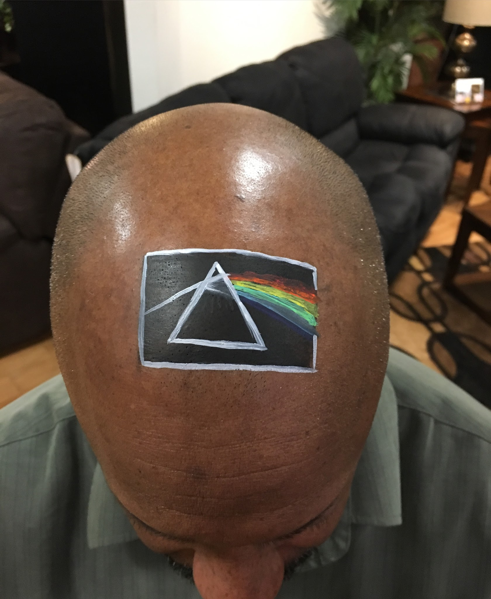Pink Floyd Face Paint