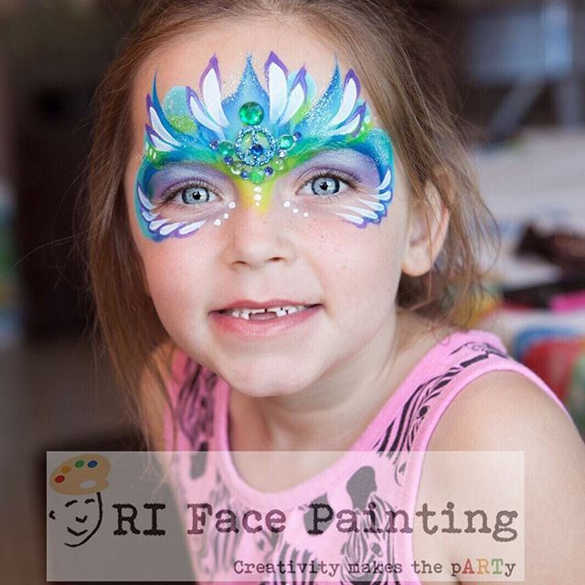 Bling Face Painting