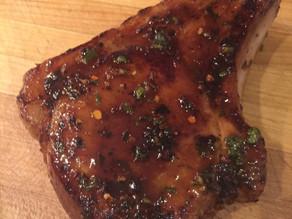 Honey-Chili Marinated Pork Chops