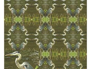 Blue Heron Loner
