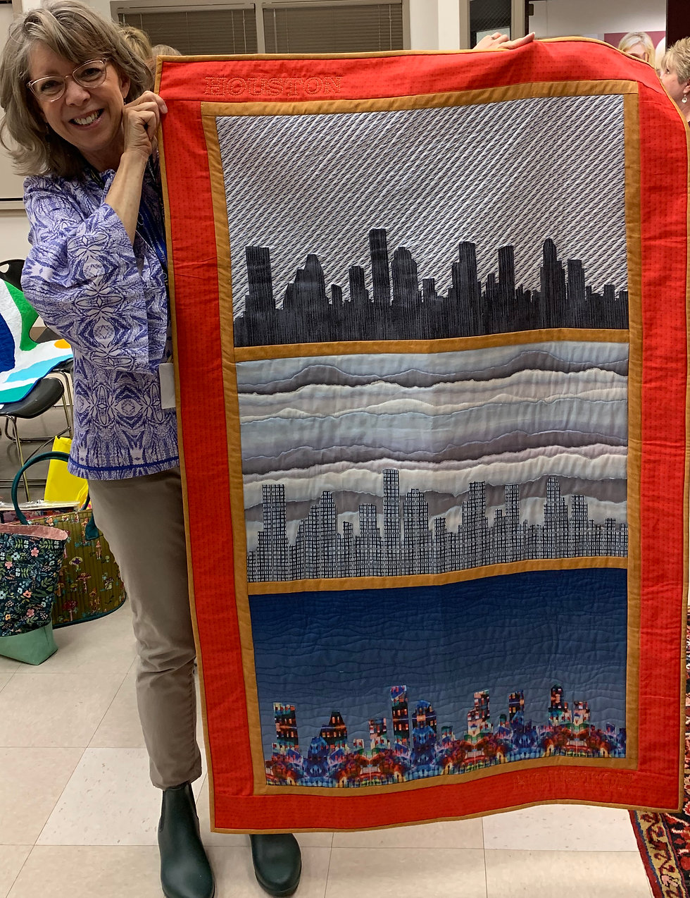 Heather with Peggy's Quilt.jpg