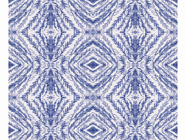 Ballpoint Pen Blue Puzzle