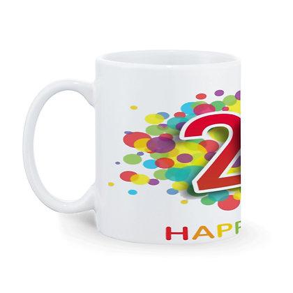 2020 Ceramic Coffee Mug 325 ml