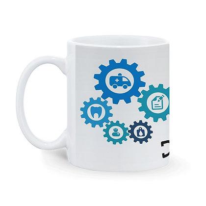 Doctor life Printed Ceramic Coffee Mug 325 ml