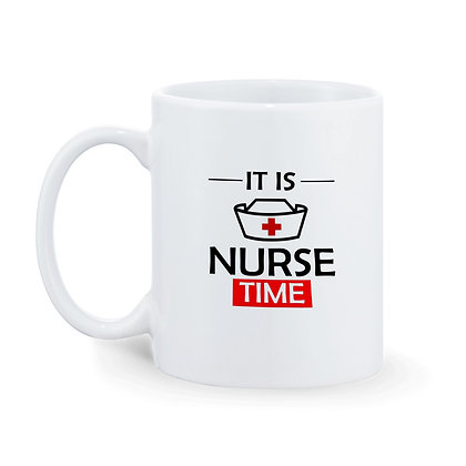 It is Nurse Time Printed Ceramic Coffee Mug 325 ml