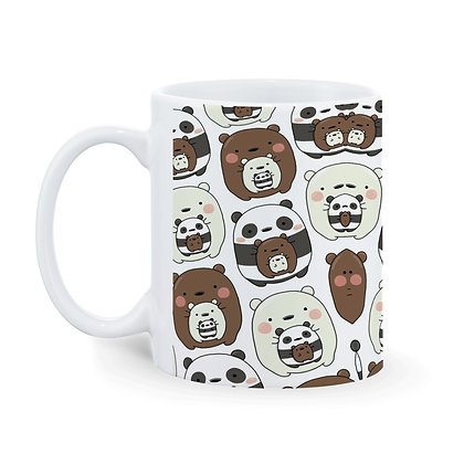 Panda Pattern Theme Ceramic Coffee Mug 325 ml