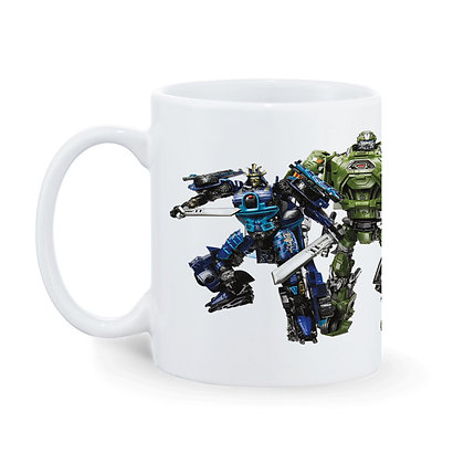 TRANSFORMERS Printed Ceramic Coffee Mug 325 ml
