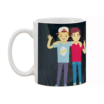 Mera Bhai hai Tu Ceramic Coffee Mug 325 ml