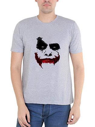 Printed Regular Fit Round Men's T-shirt