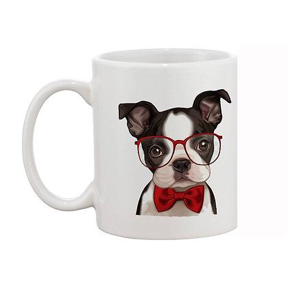 Cartoon Mr. Dog Ceramic Coffee Mug 325 ml