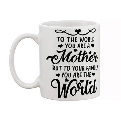 Best Mom Printed Ceramic Coffee Mug 325