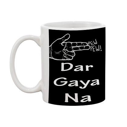 Love u yaara Printed Ceramic Coffee Mug 325 ml