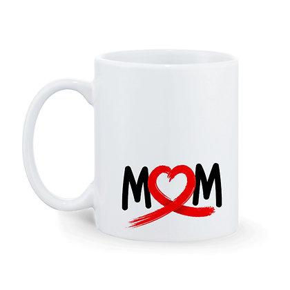 Mom Printed Ceramic Coffee Mug 325 ml