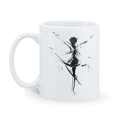 Dance is my soul Printed Ceramic Coffee Mug 325 ml