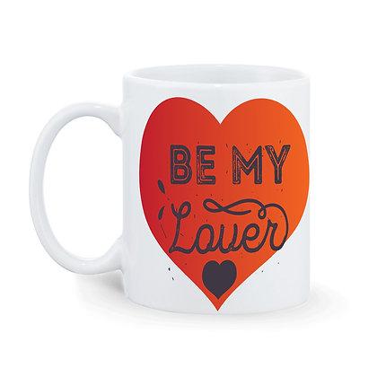Be My Lover Printed Ceramic Coffee Mug 325 ml