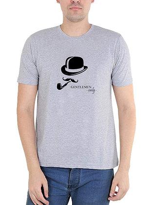 Gentleman Printed Regular Fit Round Men's T-shirt