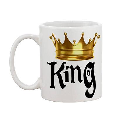 king Ceramic Coffee Mug 325 ml