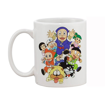 Cartoon Ninja Hathori Ceramic Coffee Mug 325 ml