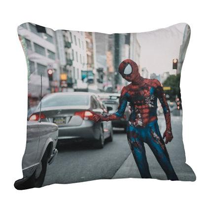 Spider-man Satin Cushion Pillow with Filler