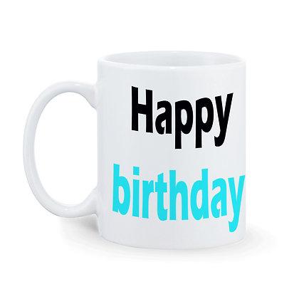 Happy Birthday Baby Boss Printed Ceramic Coffee Mug 325 ml