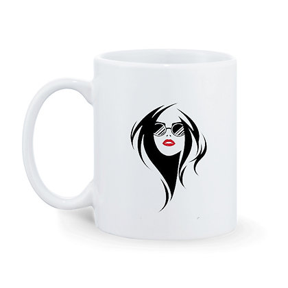 Invest in yourself Printed Ceramic Coffee Mug 325 ml