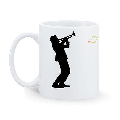 Music in my soul Printed Ceramic Coffee Mug 325 ml