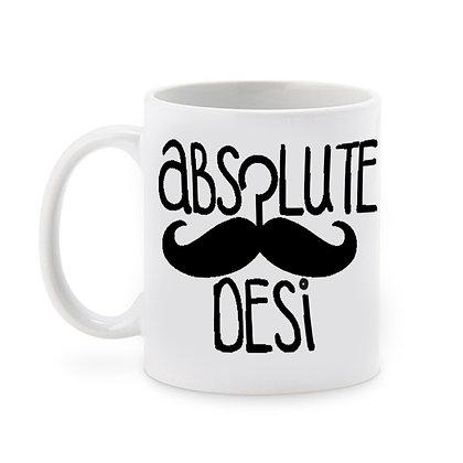 Absolute Desi Ceramic Coffee Mug 325 ml