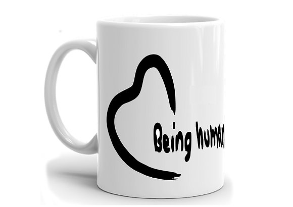 Being Human Printed Ceramic Coffee Mug 325 ml