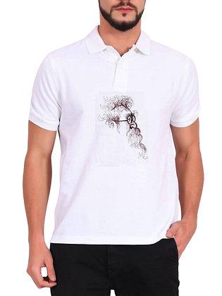 Periyar Erode Venkatappa Ramasamy  Printed Regular Fit Polo Men's T-shirt