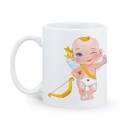 Boy Mama Printed Ceramic Coffee Mug 325 ml