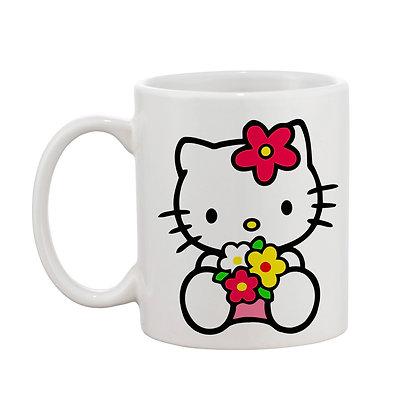 Hello Good Morning Printed Ceramic Coffee Mug 325 ml