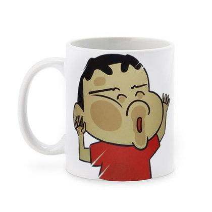 Cartoon Shinchan Ceramic Coffee Mug 325 ml