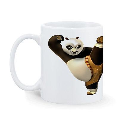 Cartoon Kung Fu Panda Ceramic Coffee Mug 325 ml