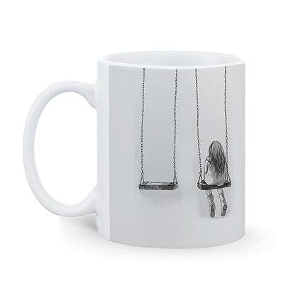 I miss You Printed Ceramic Coffee Mug 325 ml
