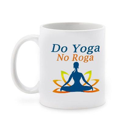 Do Yoga No Roga Ceramic Coffee Mug 325 ml