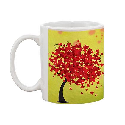 Hum or Tum Ceramic Coffee Mug 325 ml
