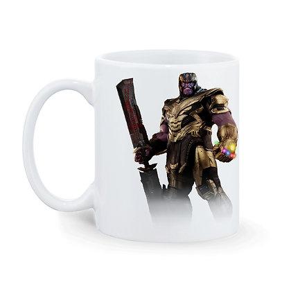 Thenos-Ironman Printed Ceramic Coffee Mug 325 ml